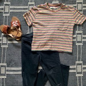 Madewell Striped T shirt